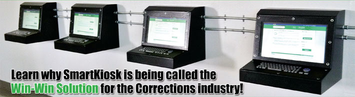 Learn why SmartKiosk is being called the Win-Win solution for the corrections industry!